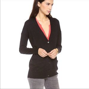 NWT Joie Black On Our Way Cardigan - S
